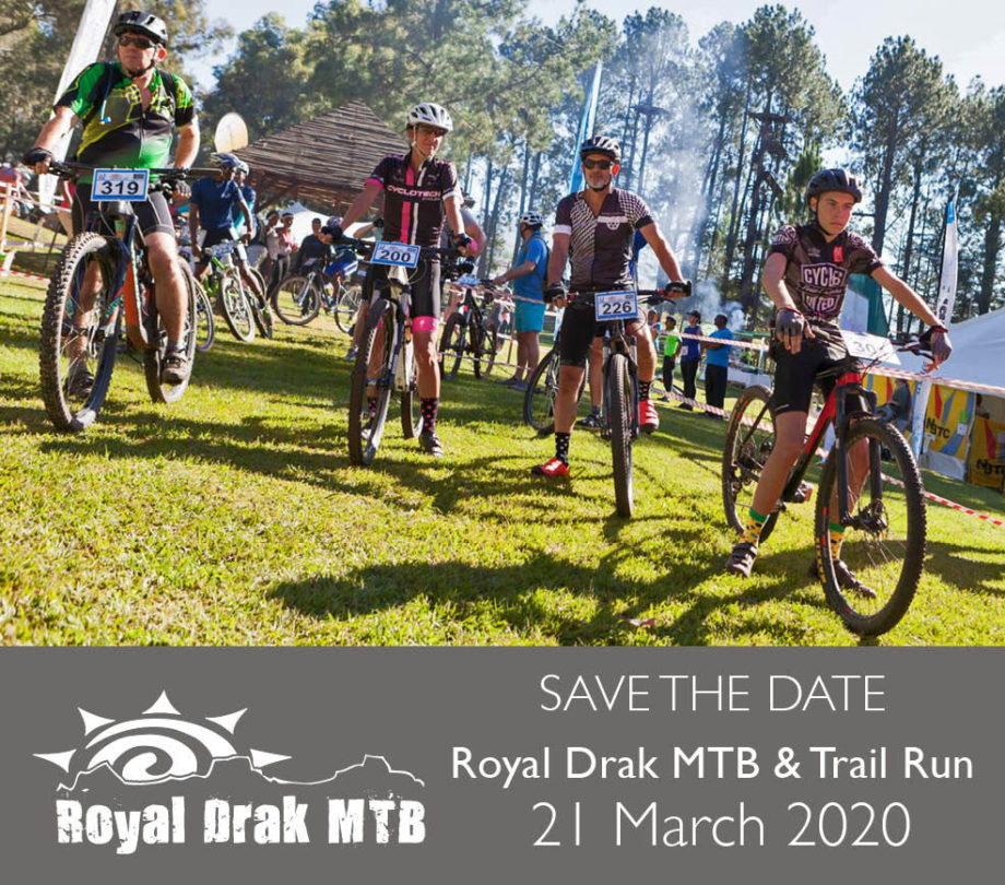 Royal Drak MTB & Trail Run - 21 March 2020